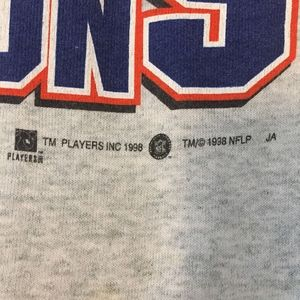 Fruit of the Loom Sweaters - Denver Broncos 1997 White Sweatshirt Size XL